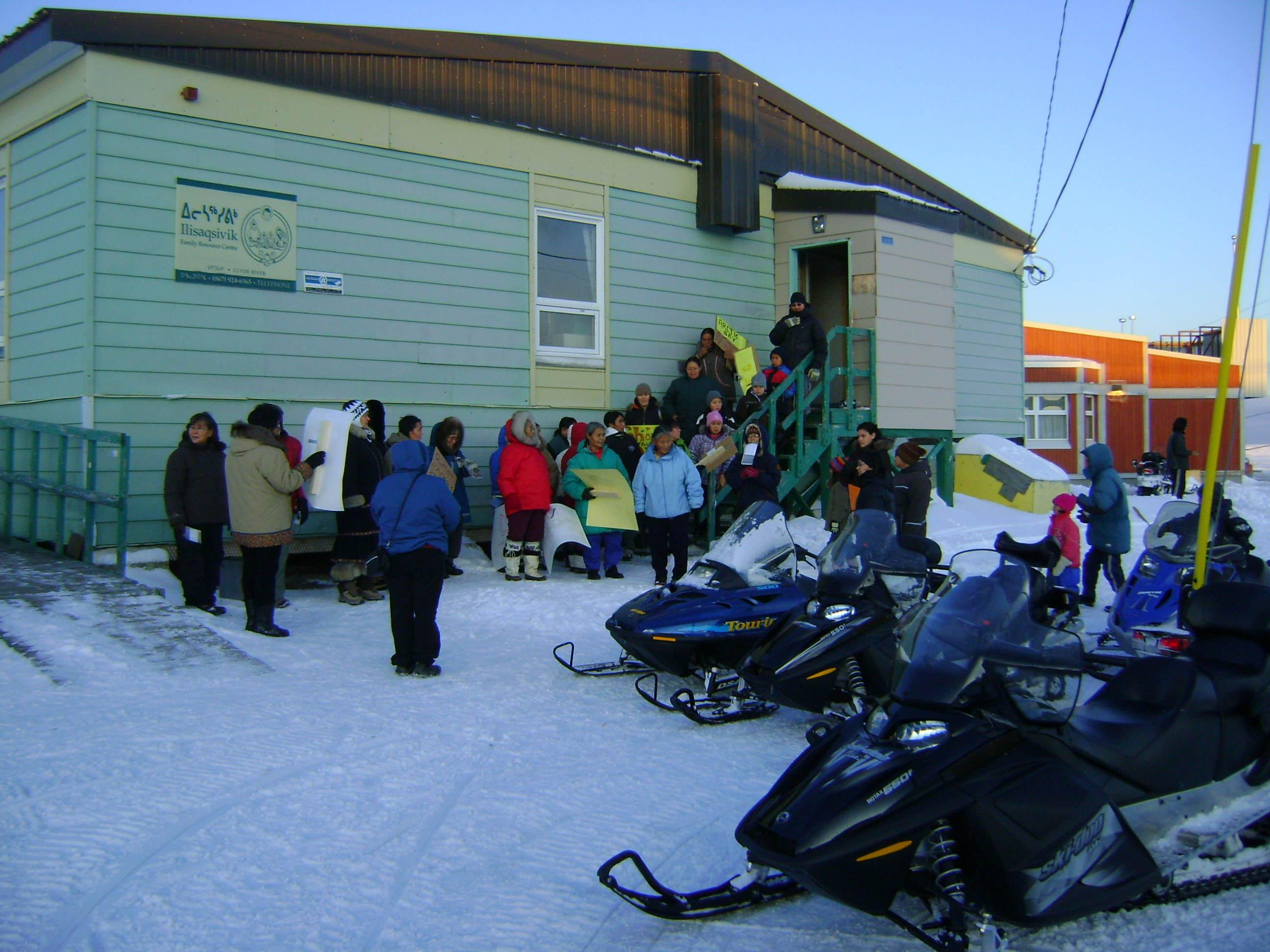 Ilisaqsivik Society, Wellness Centre, Clyde River, NU